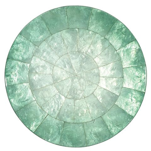 Peter's of Kensington | Kim Seybert - Capiz Shell Green Ombre Placemat