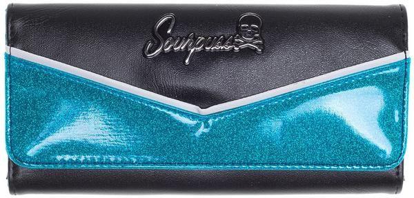Peněženka Sourpuss - modrá/černá