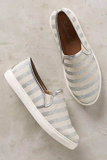 Splendid Shimmered Seaside Sneakers