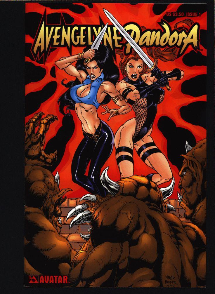 Rob Liefeld's Avengelyne Pandora #1 Rick Lyon Variation B William A. Christensen, Mark Selfert, Sexy Pin-Up Atlantis Fantasy Heroine