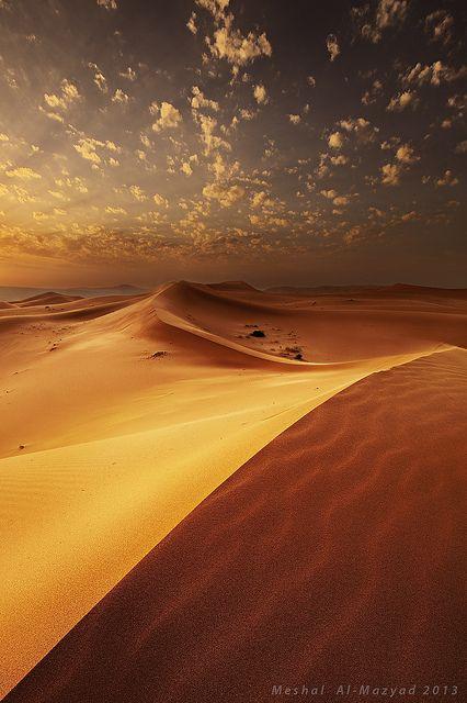 Worm Sunset 2 by meshal al-mazyad, via Flickr