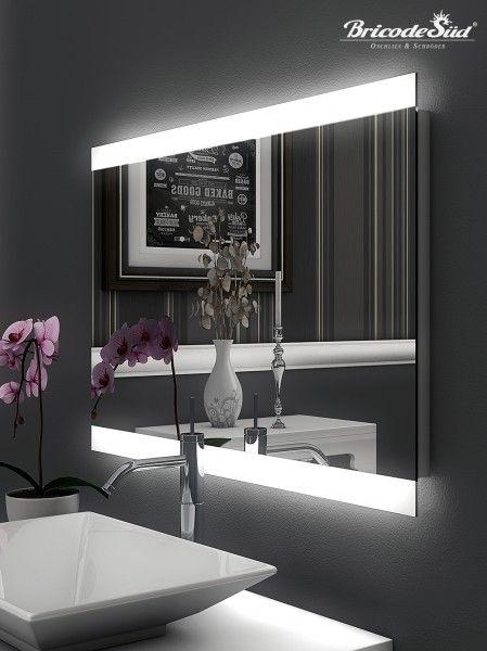 25+ parasta ideaa Badezimmerspiegel Led Pinterestissä Lavabo - badezimmerspiegel mit licht