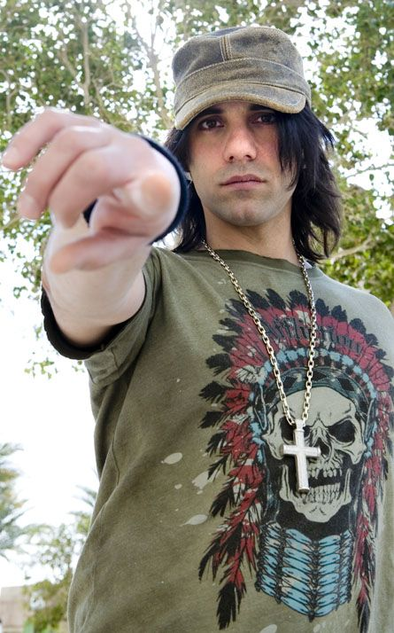 criss angel...so freakin hott!