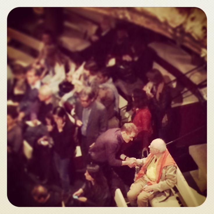 """Peter Brook ~ première de """"The Valley of Astonishment"""" ~ Théâtre Bouffes du Nord"""
