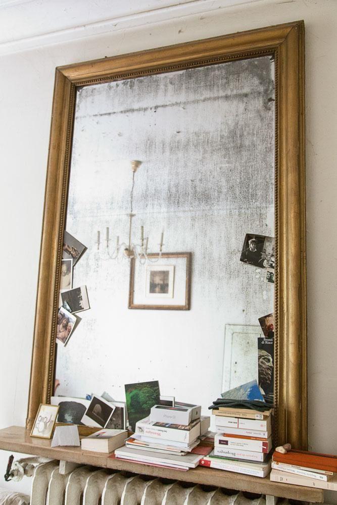 Miroir Vintage Photos Appartement Marion Audier