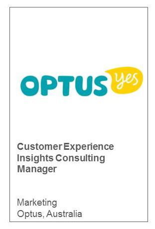 Customer Experience Insights Consulting Manager Marketing Optus, Australia
