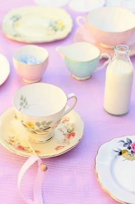 I hope to have as many fun tea parties with my children as my mother had with us, complete with fake british accents. They were truly magical!