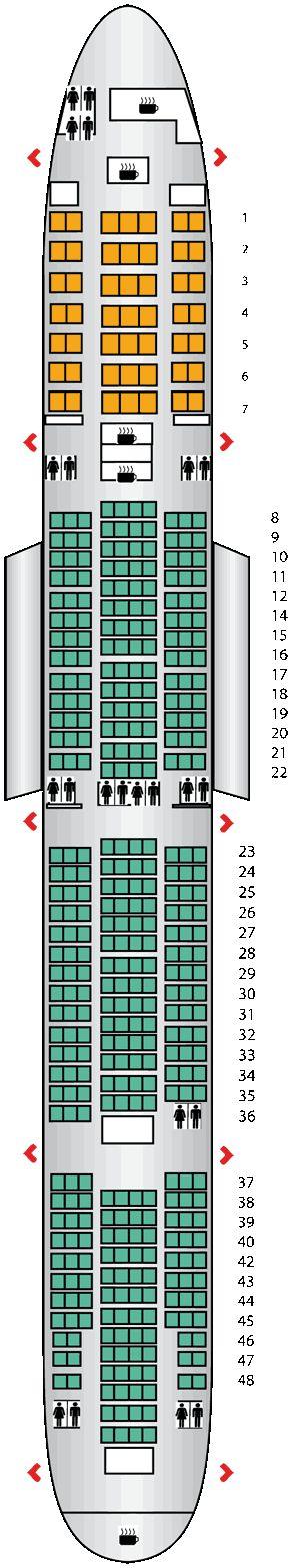 Boeing 777 300 Seating
