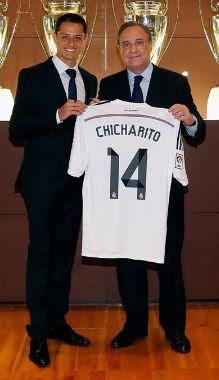 Chicharito Real Madrid