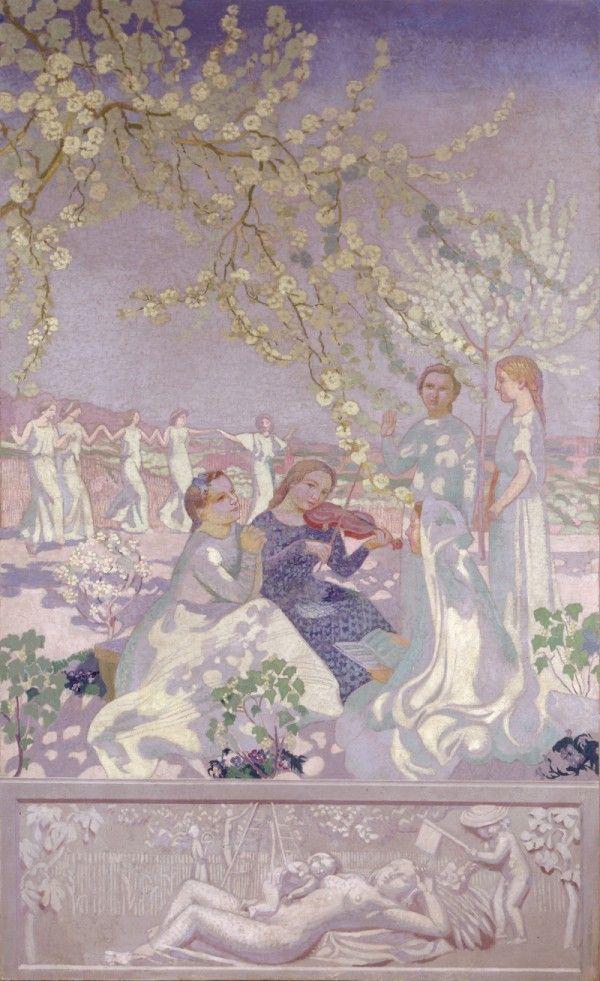 Maurice Denis, Les Musiciennes Panneau de L'Éternel Printemps