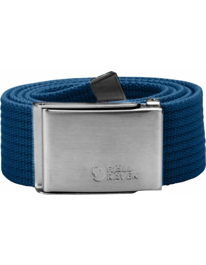 Fjellreven Canvas Belte - Lake Blue