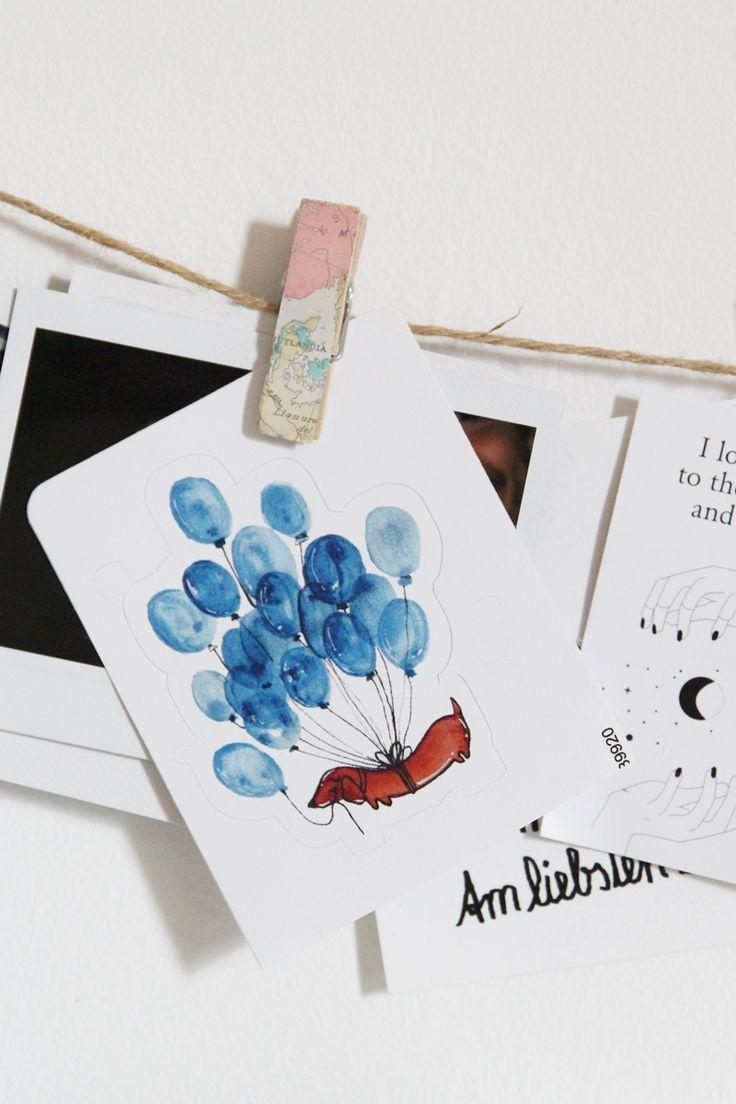 * magnoliaelectric: Geschenkideen mit Redbubble | Sticker | Luftballon