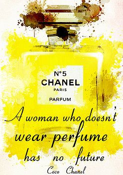 Nostalgic Art - Perfume Chanel No. 5