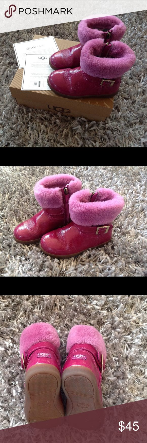 Toddler Girls UGG boots Pre loved shoes of my girl. In very good condition.Pet/smoke free home UGG Shoes Rain & Snow Boots