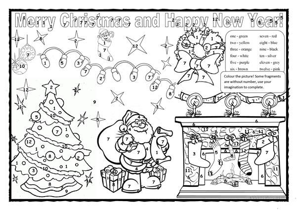 Christmas Colouring 2 Christmas Colors Christmas Cards Drawing Christmas Coloring Pages