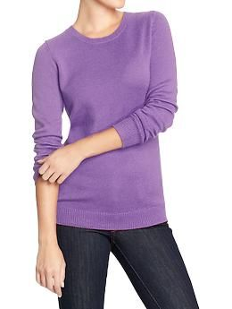 Women's Classic Crew-Neck Sweaters | Old Navy