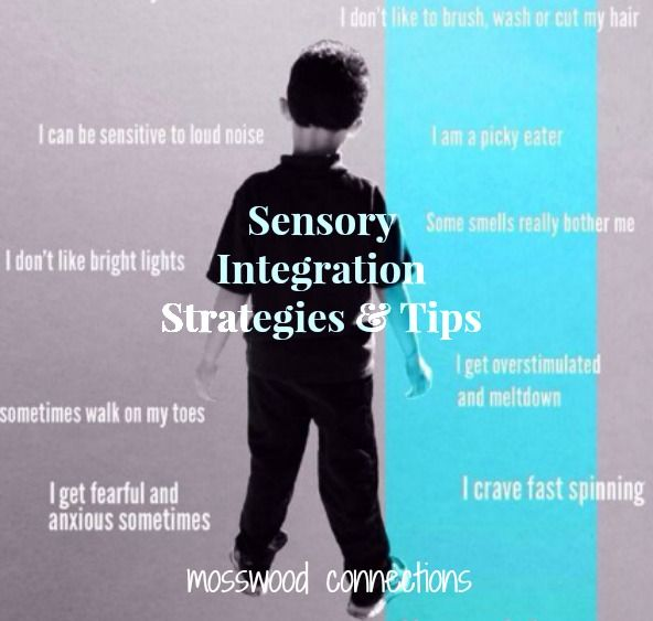 triangle Tips square sensory processing disorder  children useful are and Sensory Strategies for with store Integration