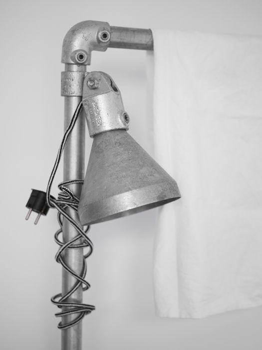 Steigerbuizen met lamp