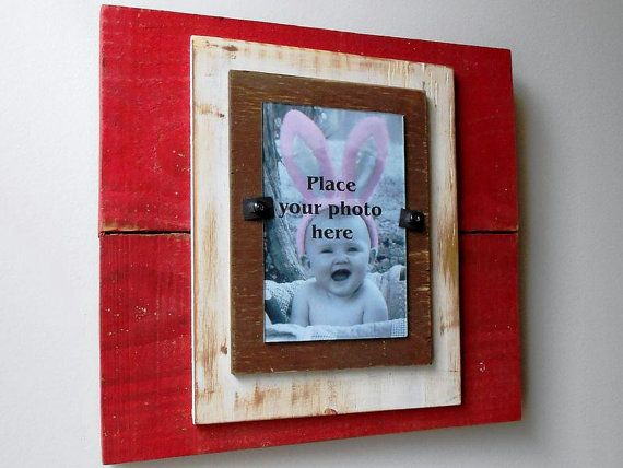 Picture Frame  Wood Frame Handmade Photo Frame by LeMaisonBelle, $38.00