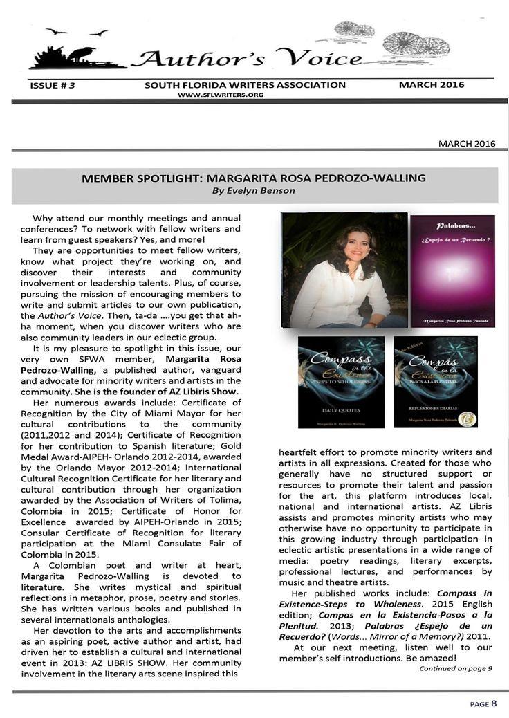 #SFWA #Magazine  https://www.facebook.com/Margarita-Rosa-Pedrozo-Maropeta-330431866984663/