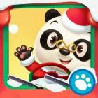 Dr. Panda's Bus Driver:  A Cristmas app for 3 year olds for iPhone/iPod touch + iPad. a set of simple activities related to a bus driver's work (drive passengers to various destinations, fill up the gas, go through a wash etc) with the winter/Christmas theme.  #Christmas #Dr.Panda #apps #kids