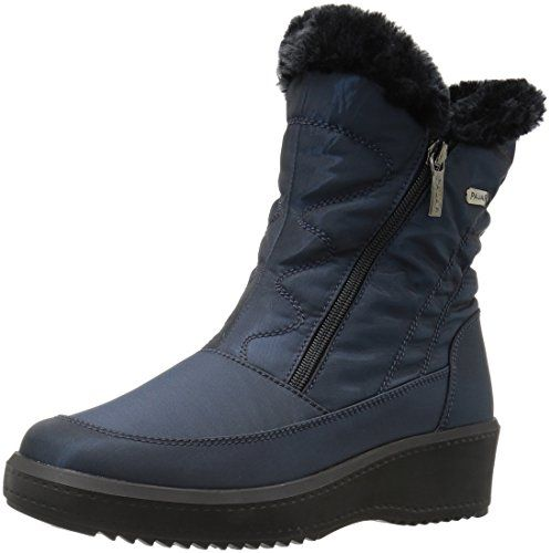 Pajar Womens Veronica Snow Boot Navy 39 EU885 M US * Check out this great product.