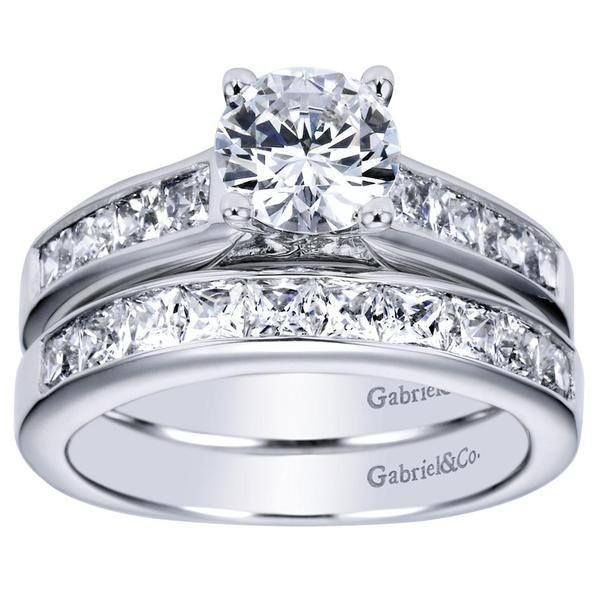 ENGAGEMENT - 1.75cttw Princess Cut Channel Set Diamond Engagement Ring anillos de compromiso | alianzas de boda | anillos de compromiso baratos http://amzn.to/297uk4t
