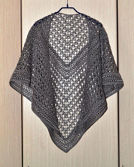Rings Of Lace ItWasYarn crochet shawl
