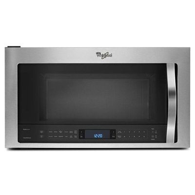 Whirlpool 1.9-cu ft 30-in Over-The-Range Convection Microwave Sensor Cooking Controls