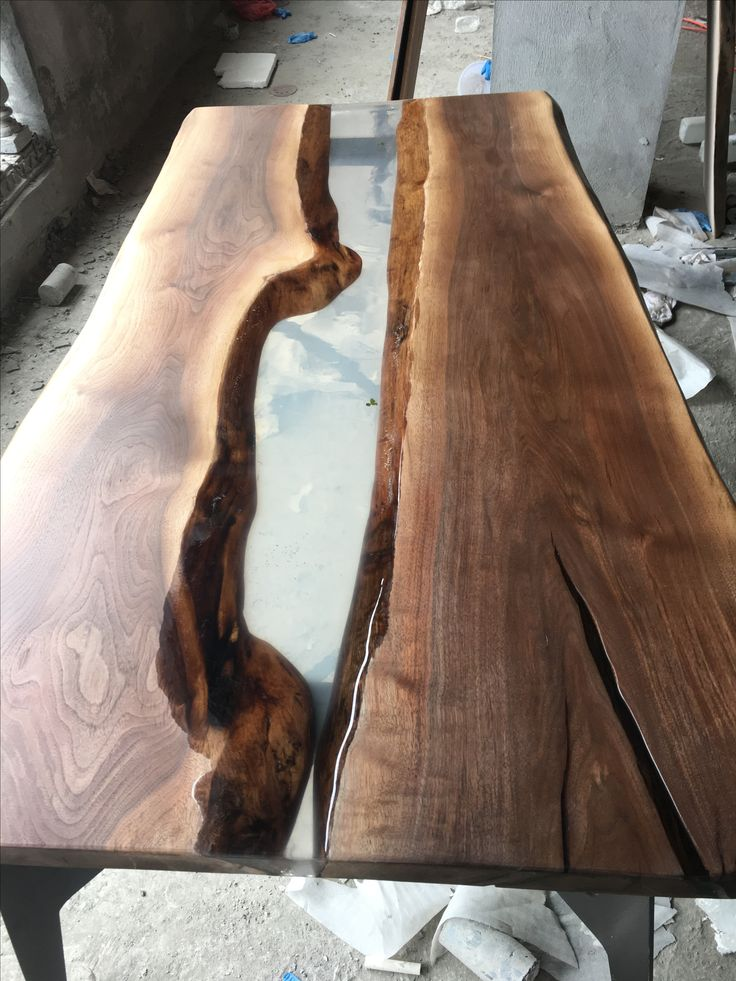 Epoxy Resin Wood Table, 8613867774190 树脂木头结合epoxy Resin