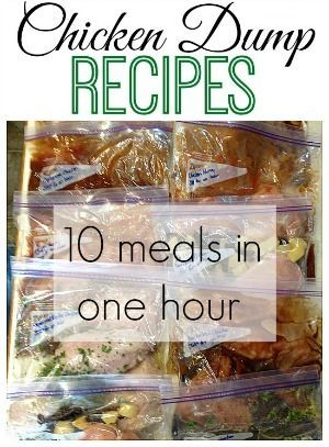 Chicken Dump Recipes - 10 meals in just one hour. @mneudorf @saracarroll03 @leappiah @j9_carroll If we plan ahead and do this on chicken butchering day, we'll have easy meal prep all winter!