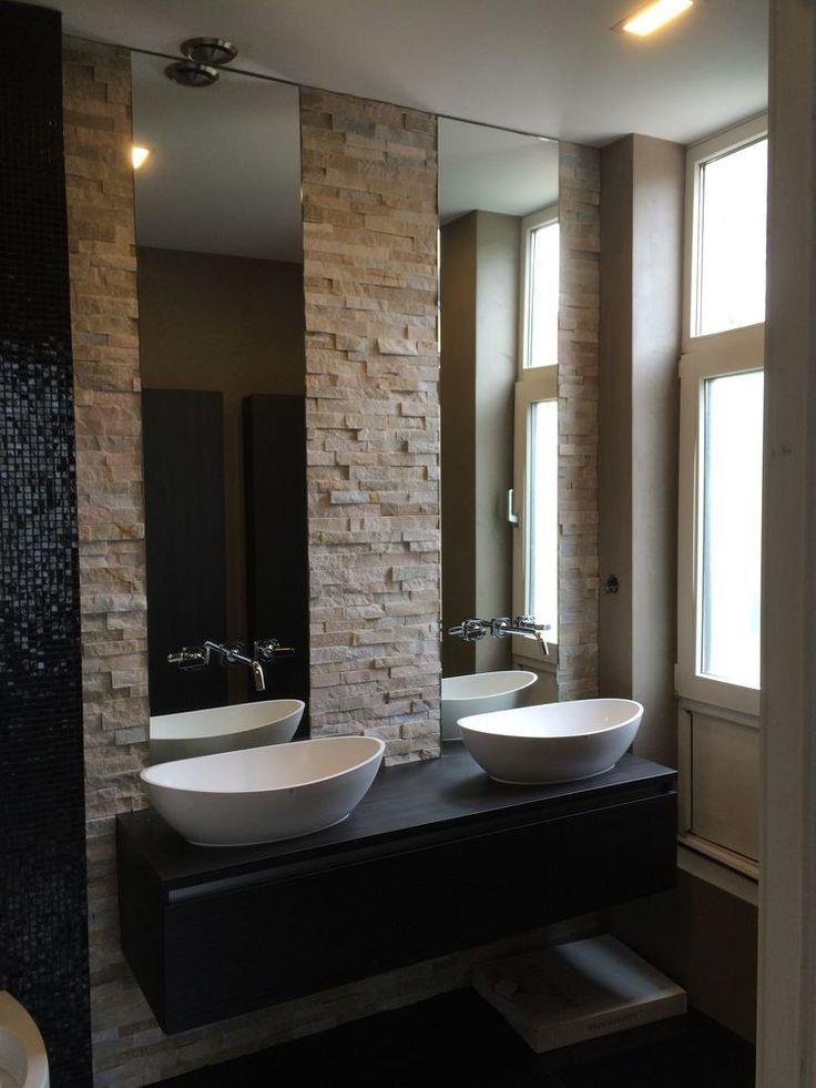miroir | Salle de bains moderne, Intérieur salle de bain et ...