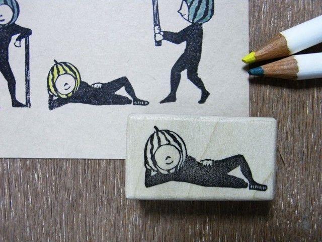 スイカ割り・寝の画像1枚目