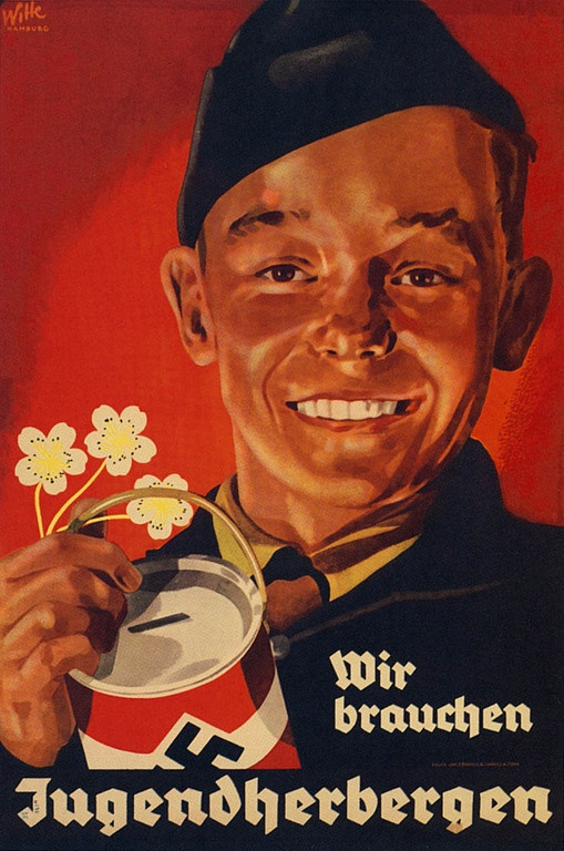"German WW2 ""We need youth hostels"""