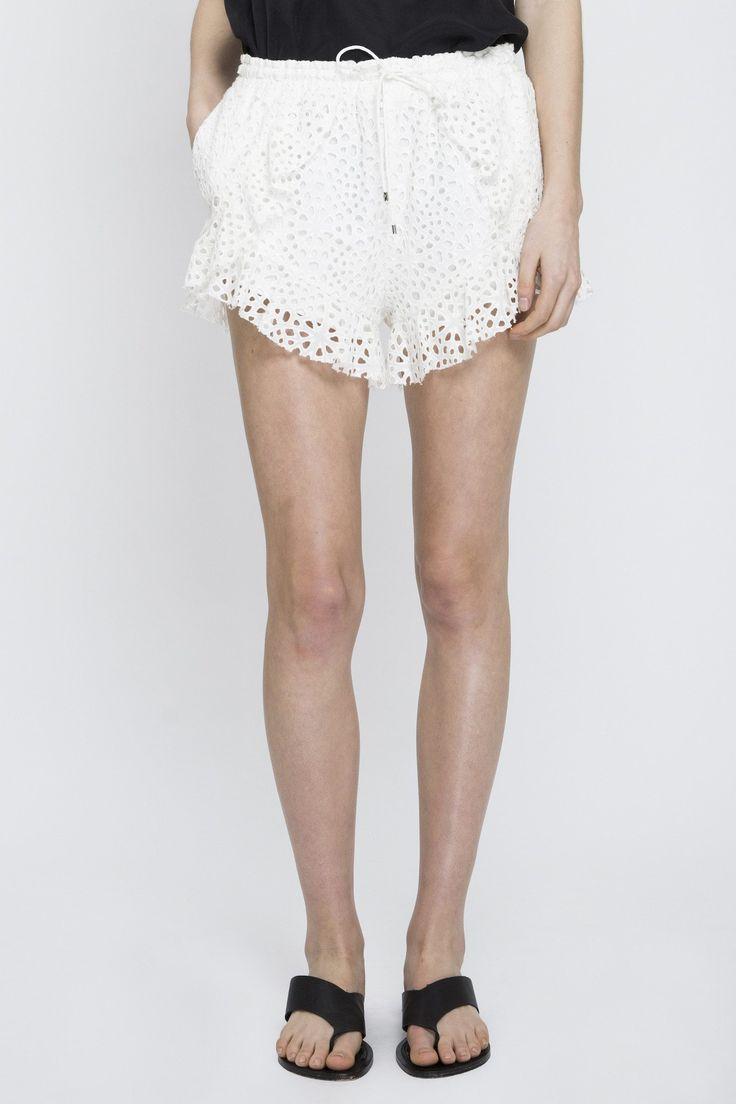 Acler - Upton Shorts Ivory