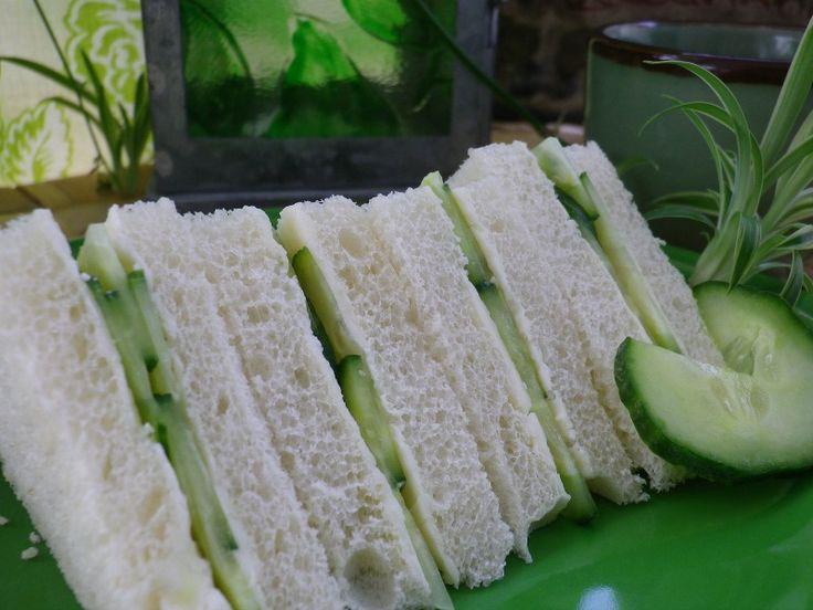 Cucumber tea sandwiches. | Tea Party & Scone Recipes | Pinterest ...