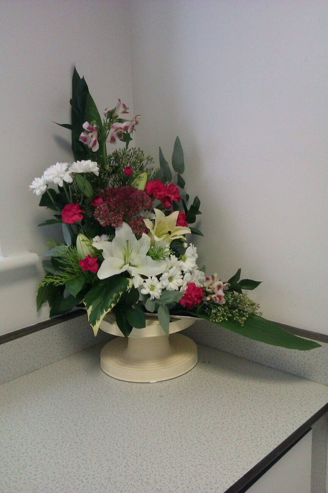 1000 Images About L Shaped Flower Arrangements On