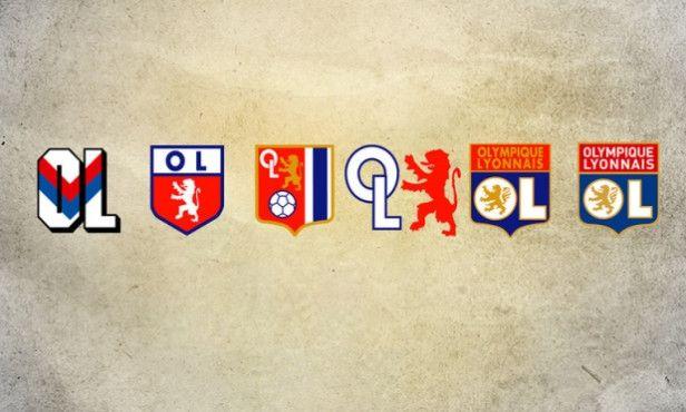 Olympique Lyonnais - badge history