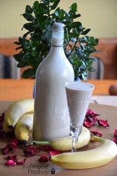 Likier bananowy, likier bananowy z mlekiem skondensowanym, likier bananowy na…