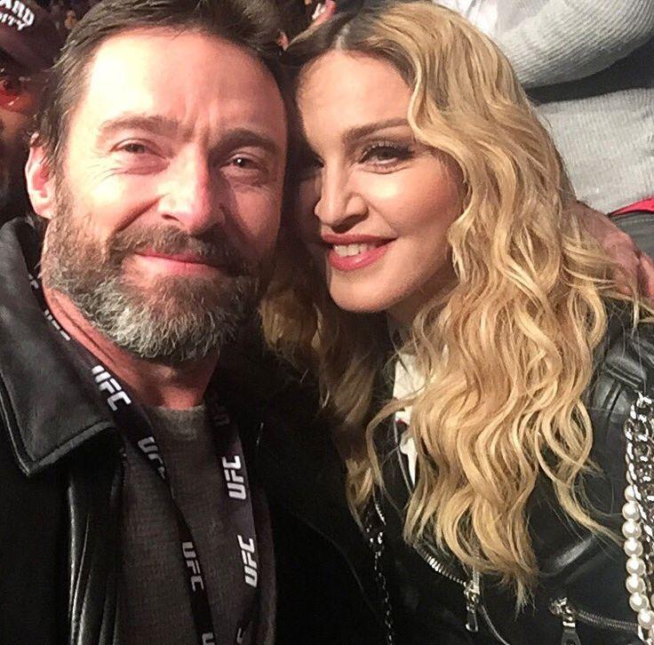 Hugh Jackman & Madonna