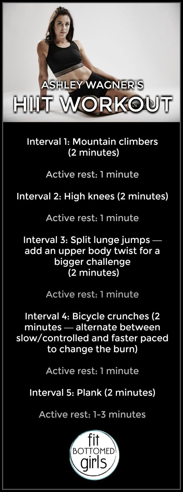 This HIIT workout will have you ready to shred some ice. | Fit Bottomed Girls