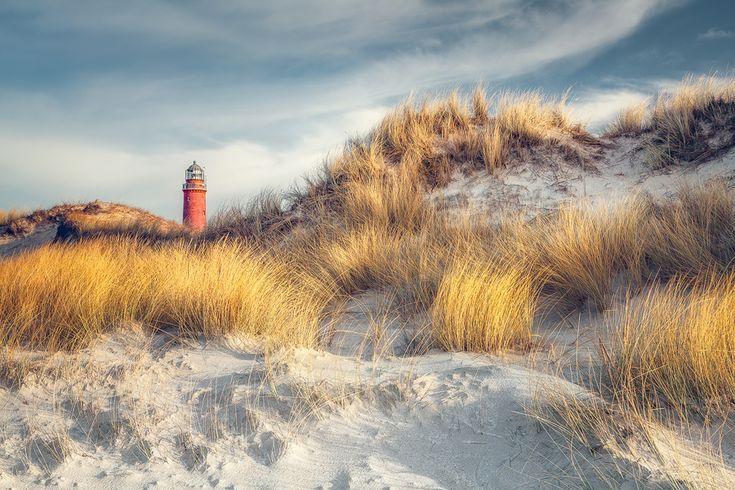 © Dirk Wiemer - www.dirkwiemer.de - Leuchtturm Darßer Ort (Weststrand), Dünen, Fischland, Küste, Leuchtturm, Ostsee, Weststrand, Winter, Prerow, Zingst, Darß