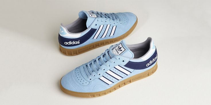adidas Handball Top Blue/Gum size? Exclusive #thatdope #sneakers #luxury #dope #fashion #trending