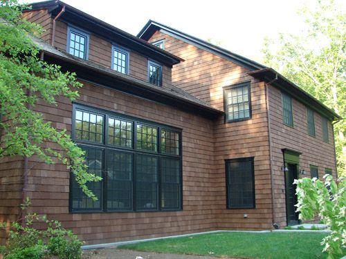 Best 25 cedar siding ideas on pinterest shingle siding - How to stain exterior wood siding ...