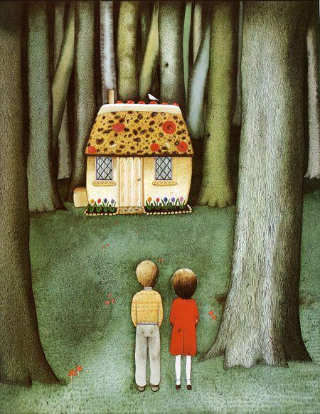 çizgili masallar: Hansel and Gretel by Anthony Browne
