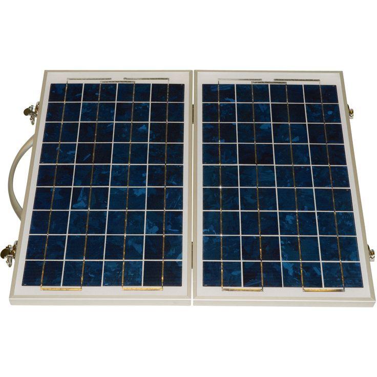 Ironton Folding Solar Kit 30 Watts Crystalline Solar