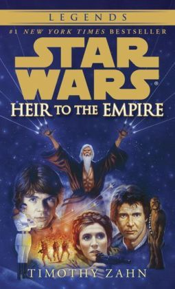 Star Wars Thrawn Trilogy #1: Heir to the Empire. I got this from my high school and fell in love with the Expanded Universe!