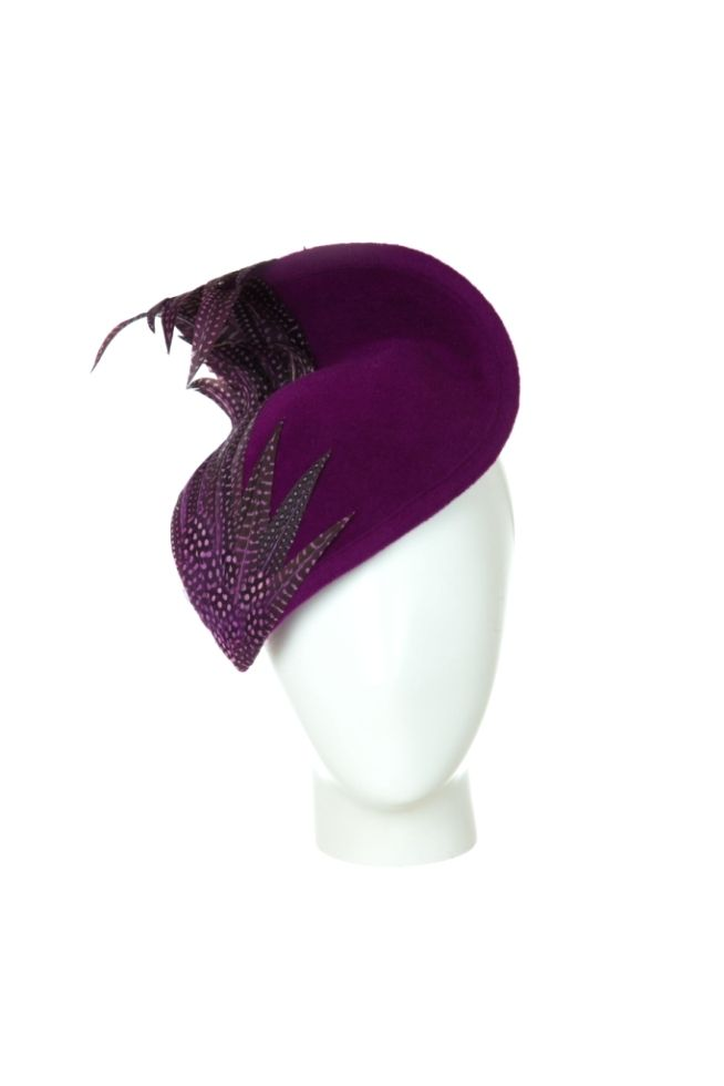 AW15 - VIVIEN SHERIFF Furlong Fashion Racing Style  Royal Ascot Hats Millinery