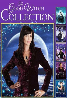 """Good Witch (2015-2017) / S: 1-3  / Ep. 30 + 7 [TV Movies] / """"Good Witch"""" will take viewers on a new magical journey with Cassie Nightingale and her daughter Grace. When Dr. Sam Radford moves in next door to Grey House with his son, they are charmed by the 'magical' mother-daughter duo."""