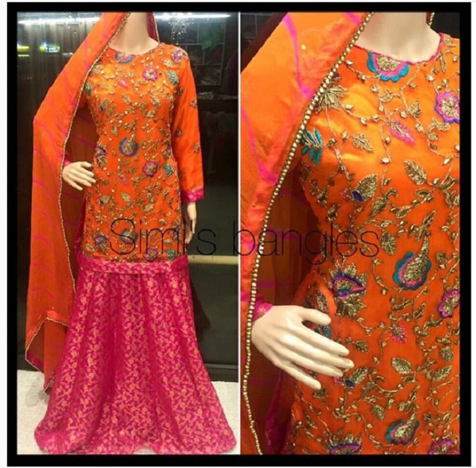 Latest Bridal Mehndi Dresses Designs 2016-2017 Collection